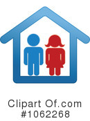Royalty-Free (RF) House Clipart Illustration #1062268