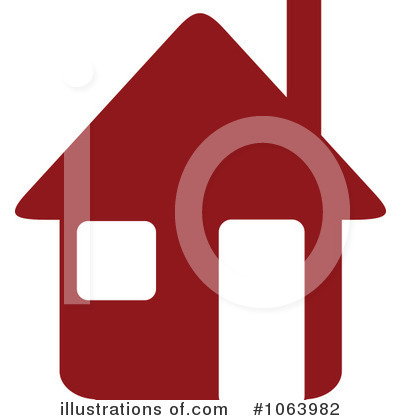 Royalty-Free (RF) House Clipart Illustration by Vector Tradition SM - Stock Sample #1063982