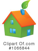 Royalty-Free (RF) House Clipart Illustration #1066844