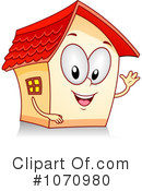 House Clipart #1070980 by BNP Design Studio