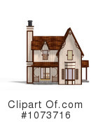 Royalty-Free (RF) House Clipart Illustration #1073716