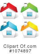 Royalty-Free (RF) House Clipart Illustration #1074897