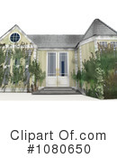 House Clipart #1080650 by Leo Blanchette