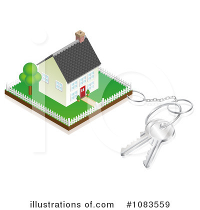 Housing Clipart #1083559 by AtStockIllustration