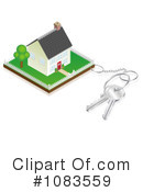 Royalty-Free (RF) house Clipart Illustration #1083559