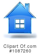 Royalty-Free (RF) House Clipart Illustration #1087260