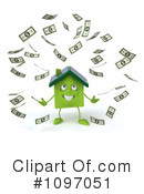 Royalty-Free (RF) house Clipart Illustration #1097051