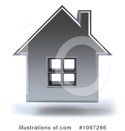 Royalty-Free (RF) House Clipart Illustration by Julos - Stock Sample #1097266