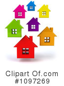 Royalty-Free (RF) House Clipart Illustration #1097269