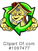 Royalty-Free (RF) House Clipart Illustration #1097477