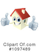 Royalty-Free (RF) House Clipart Illustration #1097489