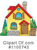 Royalty-Free (RF) House Clipart Illustration #1100743