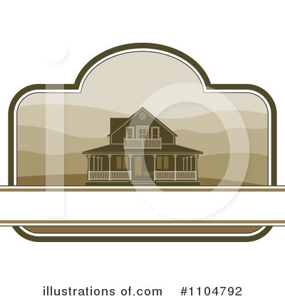 House Clipart #1104792 by Lal Perera