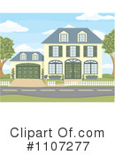Royalty-Free (RF) House Clipart Illustration #1107277