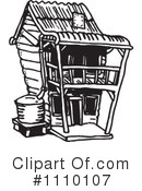 House Clipart #1110107 by Dennis Holmes Designs