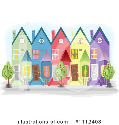 House Clipart #1112408 by BNP Design Studio
