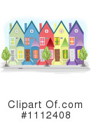 Royalty-Free (RF) House Clipart Illustration #1112408