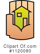 Royalty-Free (RF) House Clipart Illustration #1120080
