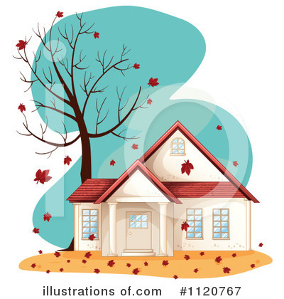 House Clipart #1120767 by Graphics RF