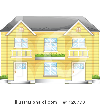House Clipart #1120770 by Graphics RF