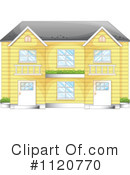 Royalty-Free (RF) House Clipart Illustration #1120770