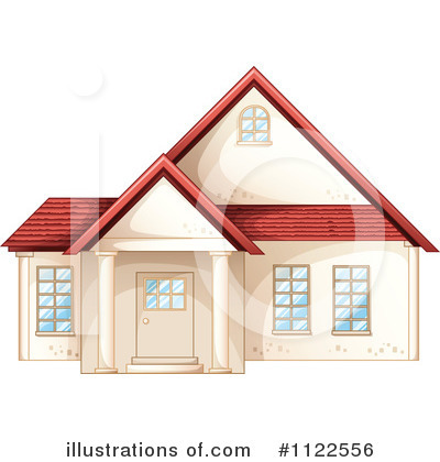 House Clipart #1122556 by Graphics RF