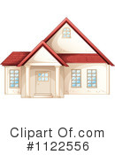 Royalty-Free (RF) House Clipart Illustration #1122556
