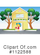 House Clipart #1122588 by Graphics RF