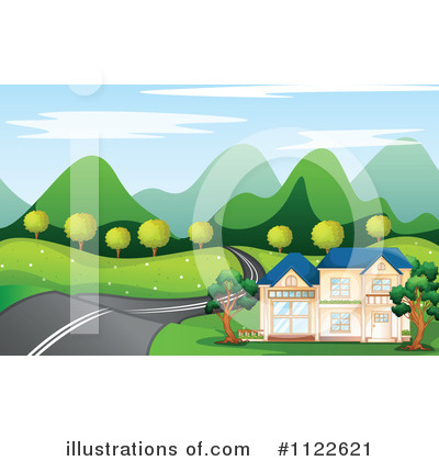 Road Clipart #1122621 by Graphics RF