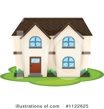 House Clipart #1122625 by Graphics RF