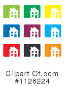 House Clipart #1126224 by michaeltravers