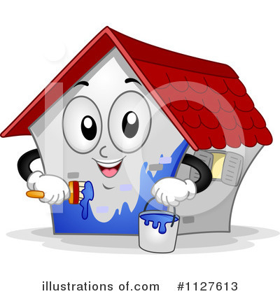 Royalty-Free (RF) House Clipart Illustration by BNP Design Studio - Stock Sample #1127613