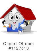 Royalty-Free (RF) house Clipart Illustration #1127613