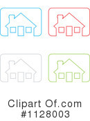 House Clipart #1128003 by michaeltravers