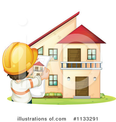 House Clipart #1133291 by Graphics RF
