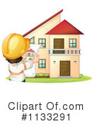 Royalty-Free (RF) House Clipart Illustration #1133291