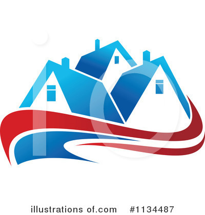 Real Estate Clipart #1134487 by Vector Tradition SM