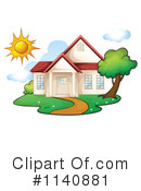 Royalty-Free (RF) House Clipart Illustration #1140881