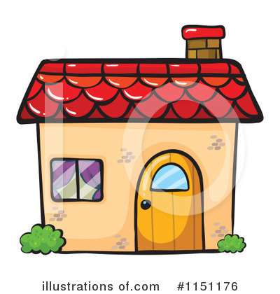 House Clipart #1151176 by Graphics RF