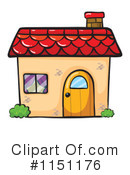 Royalty-Free (RF) House Clipart Illustration #1151176