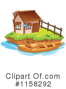 House Clipart #1158292 by Graphics RF