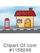 House Clipart #1158299 by Graphics RF