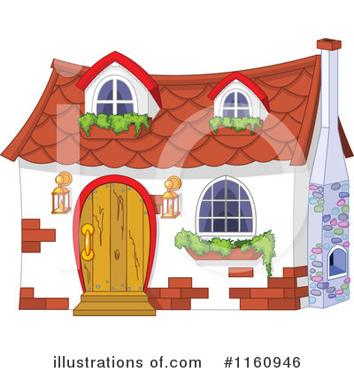Houses Clipart #1160946 by Pushkin