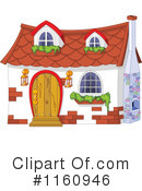 Royalty-Free (RF) House Clipart Illustration #1160946