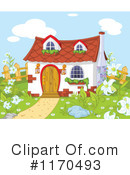 Royalty-Free (RF) House Clipart Illustration #1170493