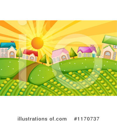 House Clipart #1170737 by Graphics RF