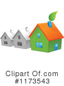 Royalty-Free (RF) House Clipart Illustration #1173543