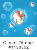 Royalty-Free (RF) House Clipart Illustration #1198992