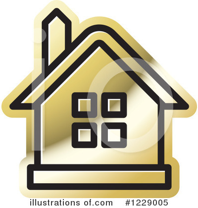 House Clipart #1229005 by Lal Perera