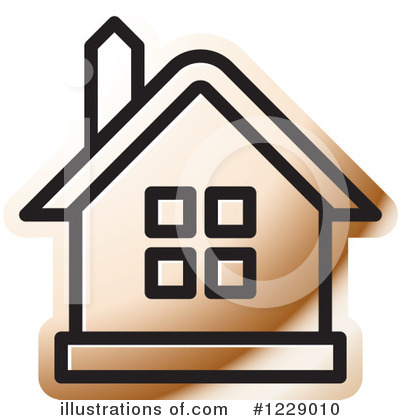 Royalty-Free (RF) House Clipart Illustration by Lal Perera - Stock Sample #1229010